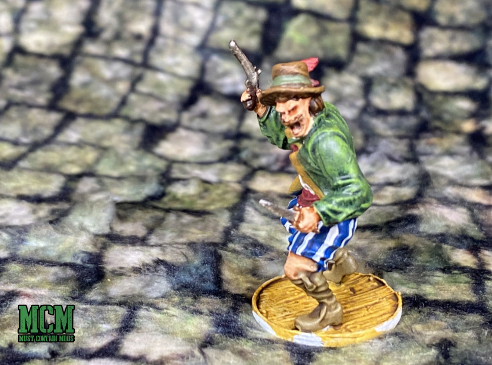 A Painted Blood & Plunder Miniature