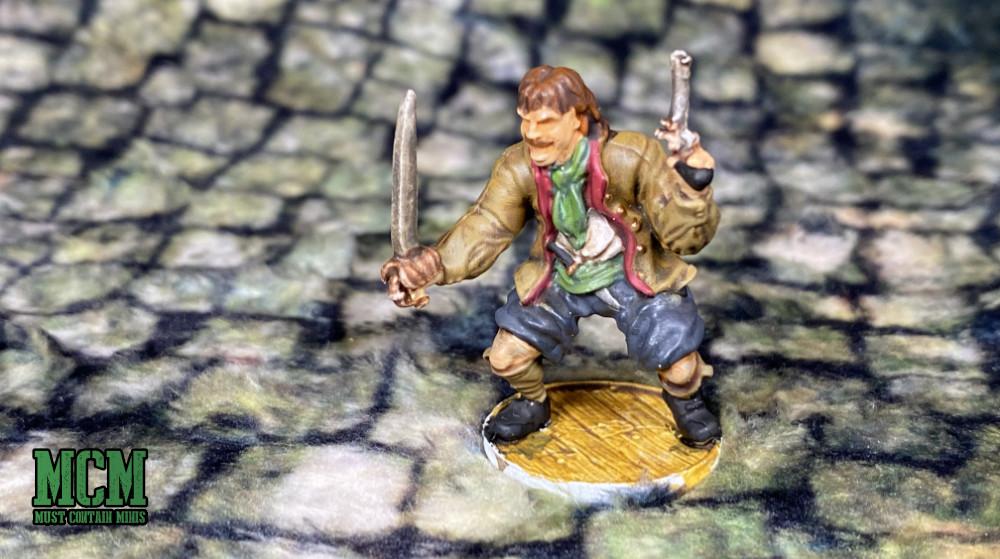 A Dutch Blood & Plunder Sailor by Firelock Games