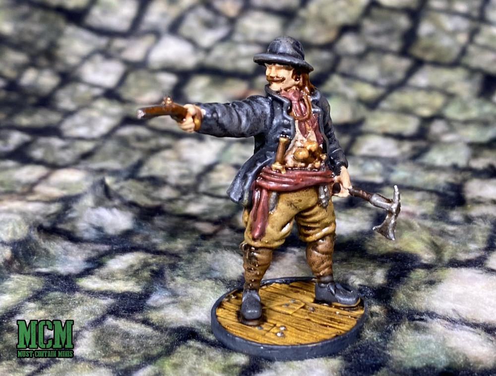 A 28mm Dutch Zeelieden miniature