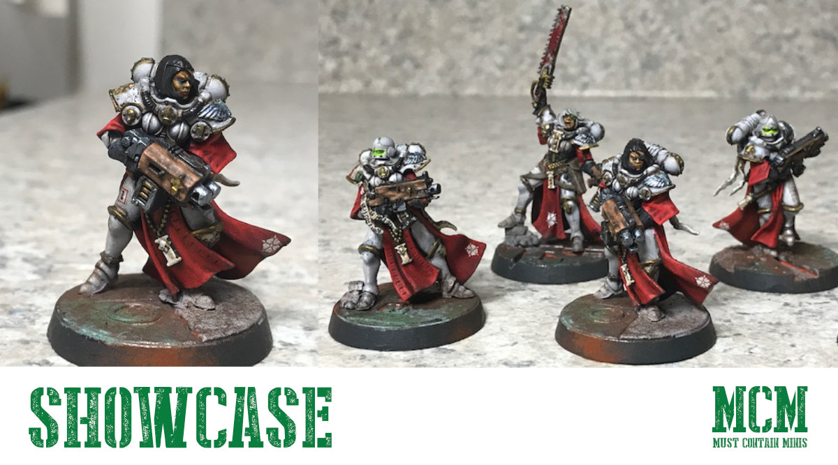 Read more about the article Showcase: Brenden's Painted Sisters of Battle