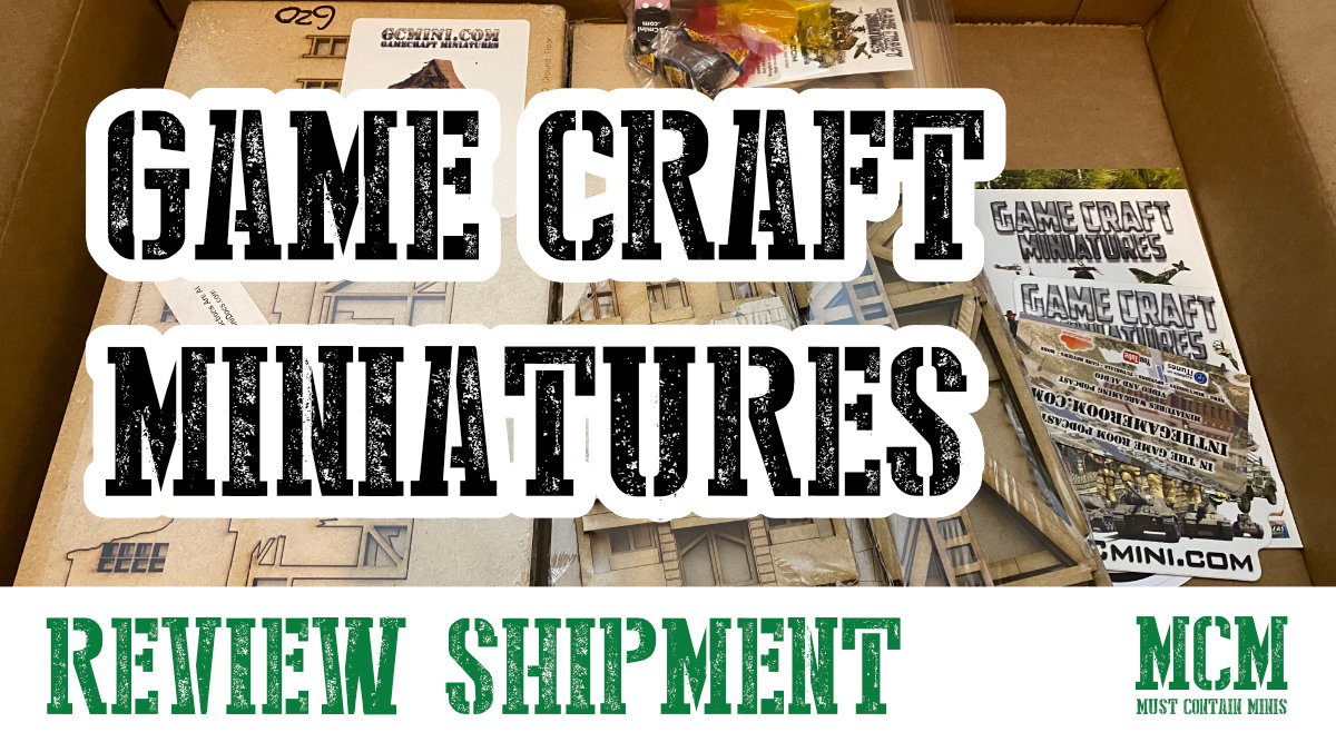 You are currently viewing GameCraft Miniatures – Company Profile and Review Shipment