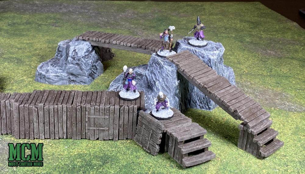 Scale Comparison - Monster Scenery terrain to Frostgrave