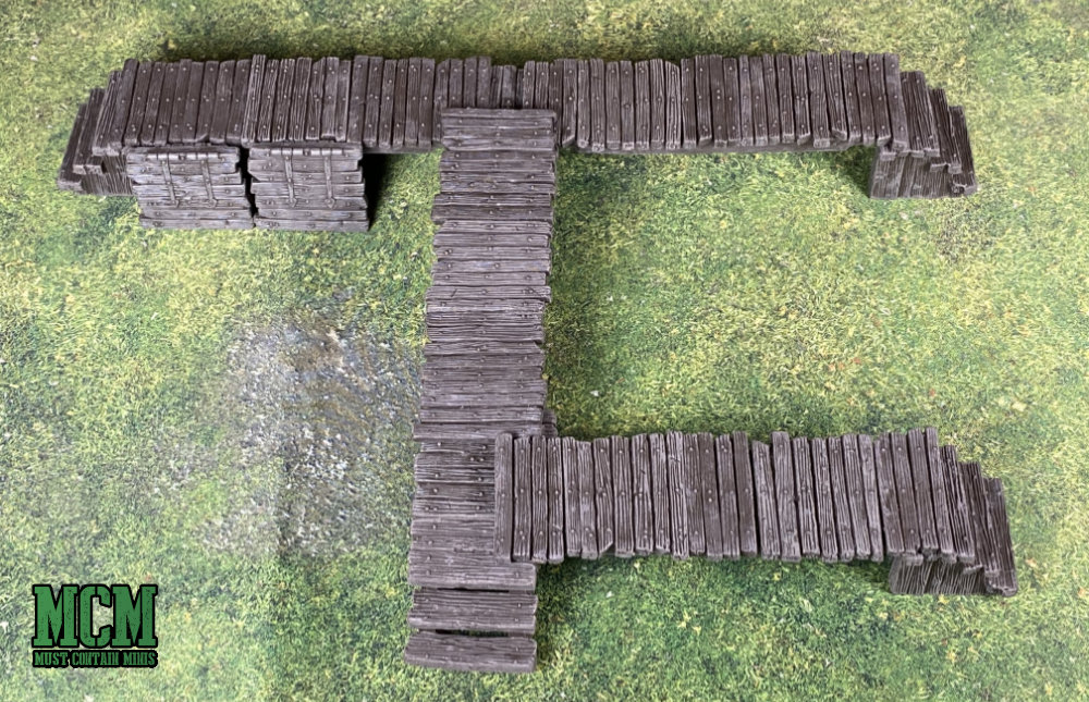 Monster Scenery Terrain Review - Bridges and Barricades