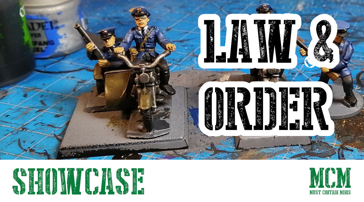 Read more about the article Law & Order – Police Miniatures by RAFM