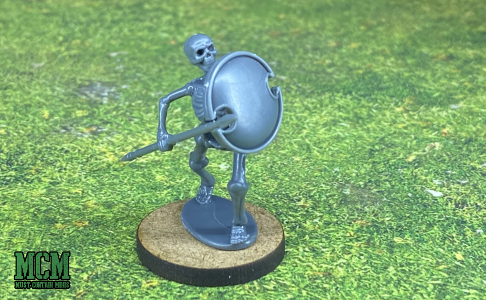 How to Prep Plastic Miniatures for Painting - How to deal with an integrated base