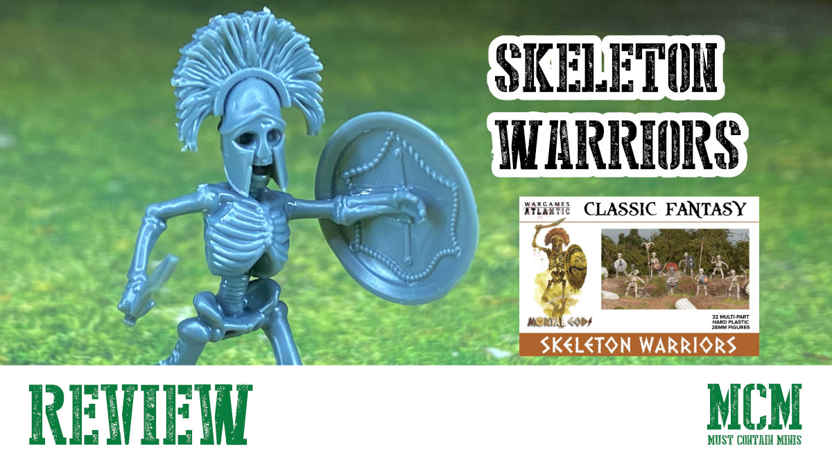 Read more about the article Review of 28mm Wargames Atlantic Skeleton Warriors