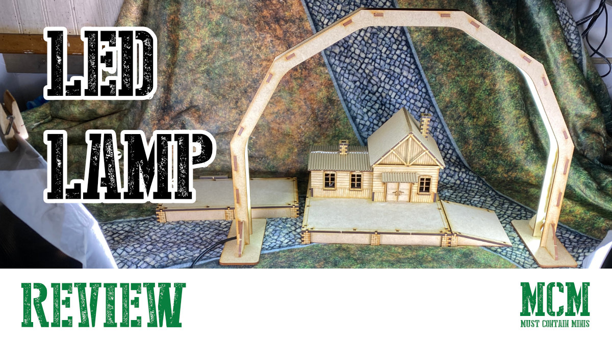Read more about the article LED Lamp for Miniature Painting & Photography