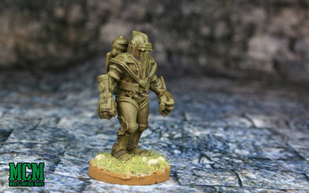 Alternative American Power Armour for Konflikt 47 and other weird WW1 and WW2 games