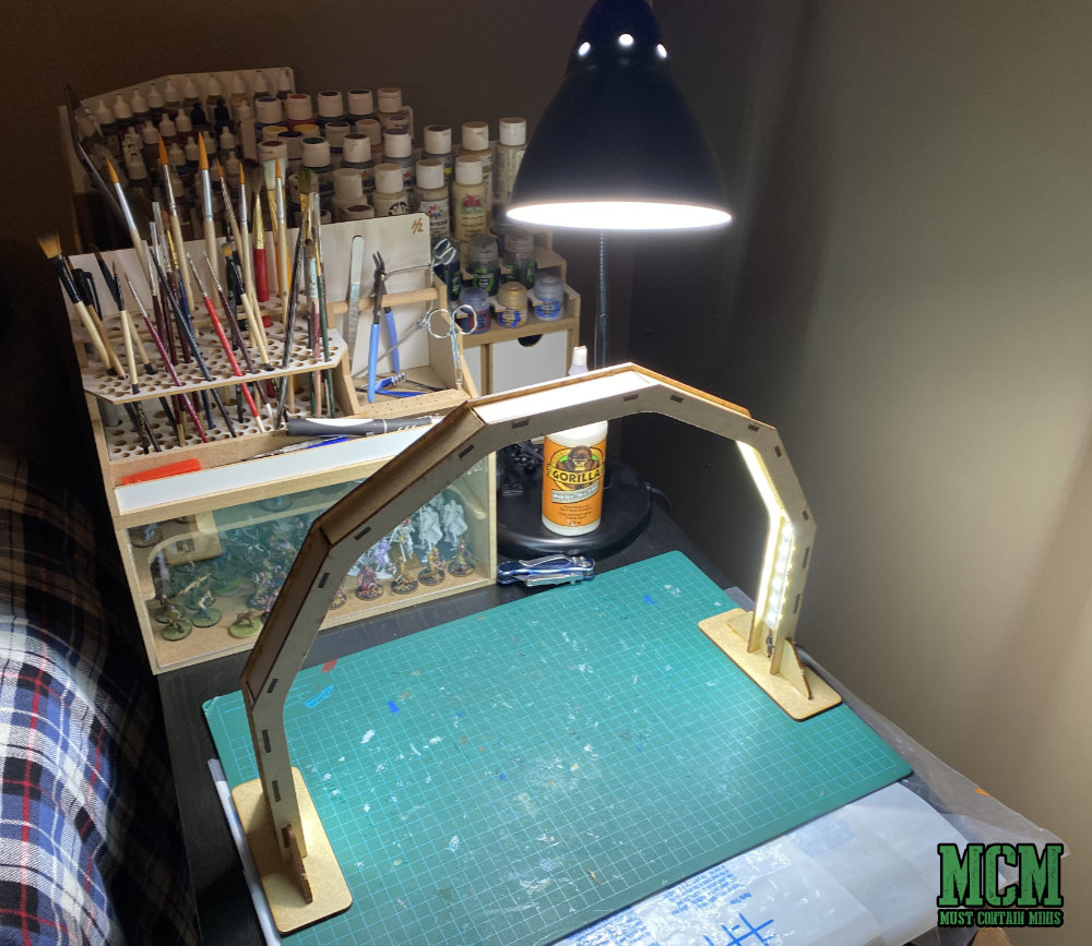 LED Lamp for Miniature building and painting