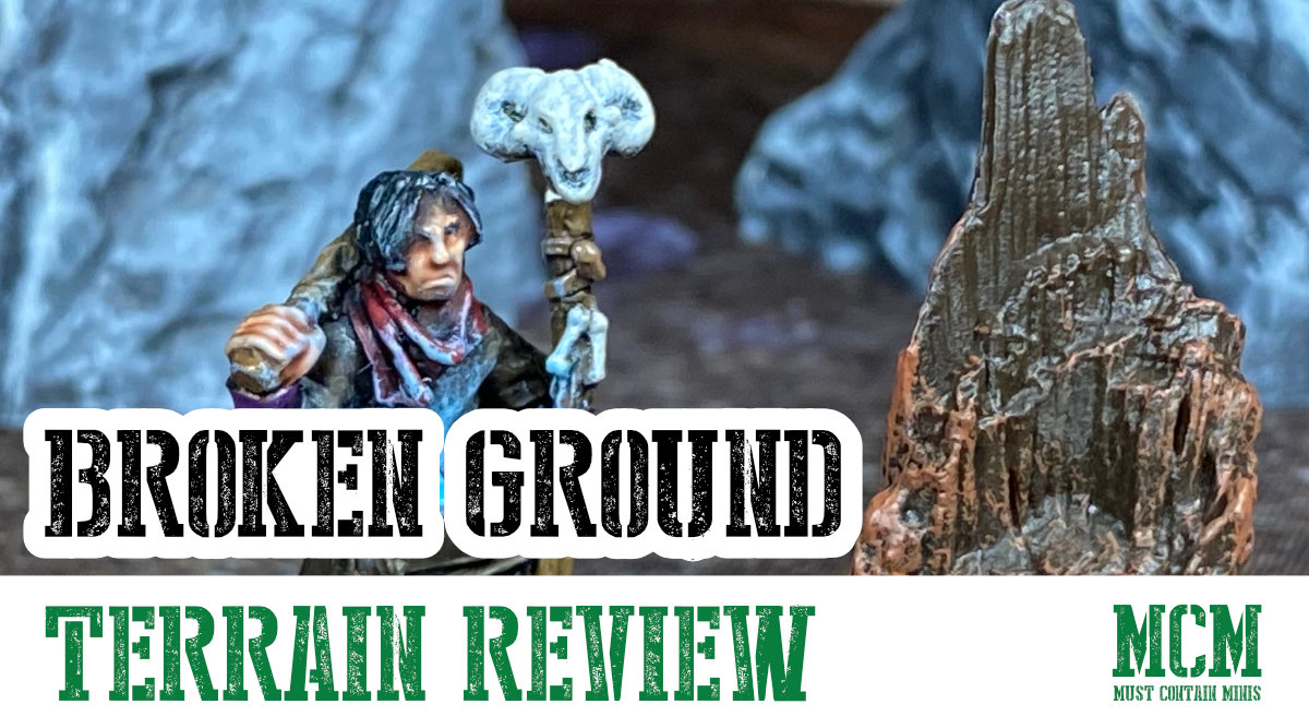 Read more about the article Monster Scenery Terrain Review – Broken Ground