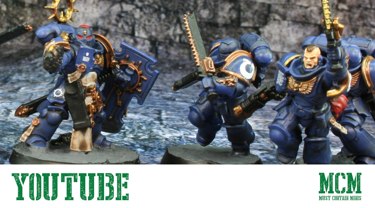 Read more about the article Recruit Edition Painted Space Marines