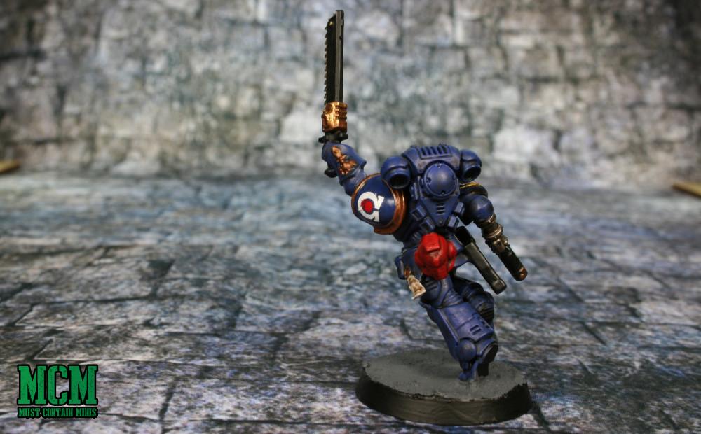 Painted Assault Intercessor Sergeant