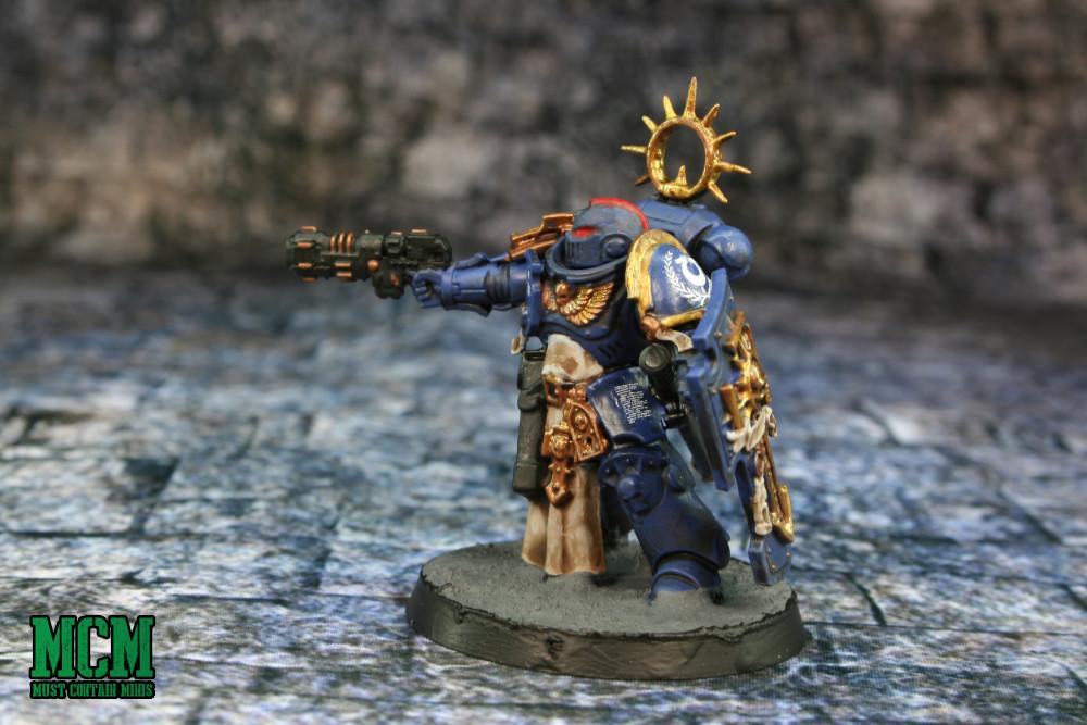 Painted Primaris Space Marine Lieutenant