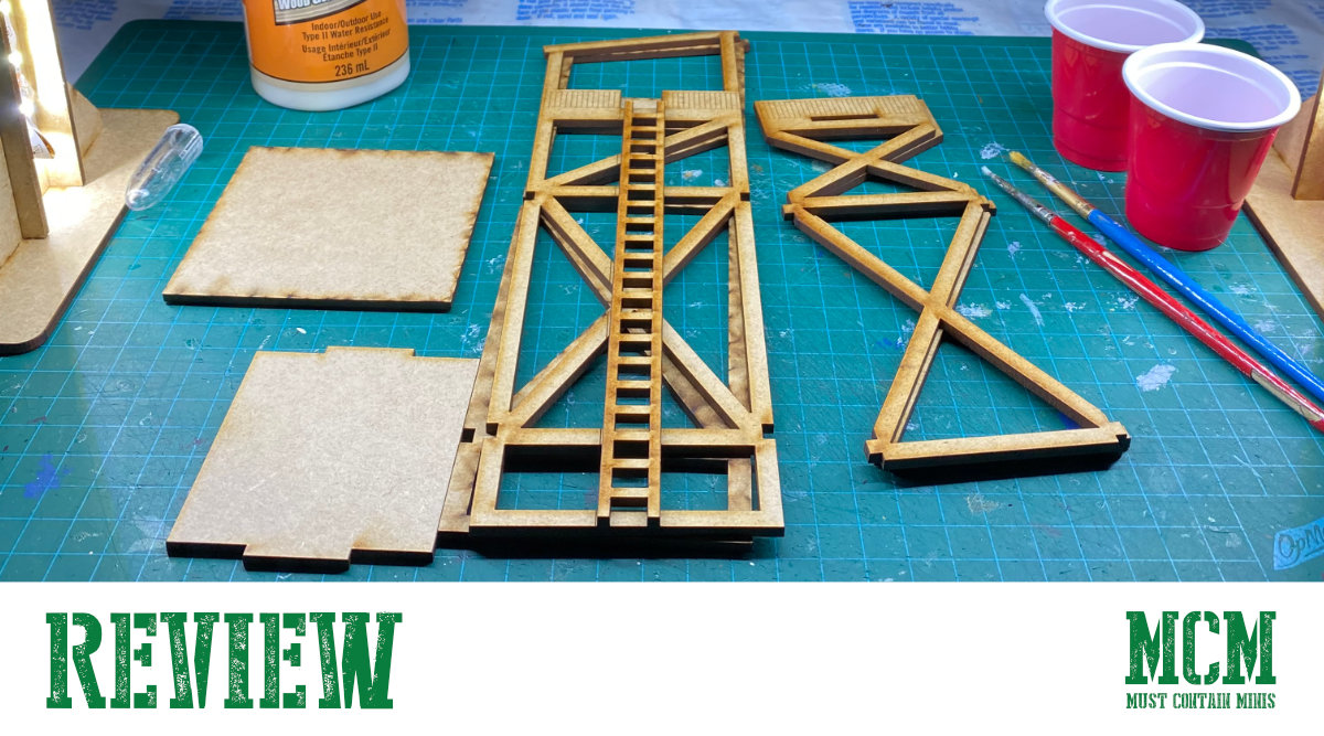 You are currently viewing 28mm Guard Tower Review for games like Bolt Action