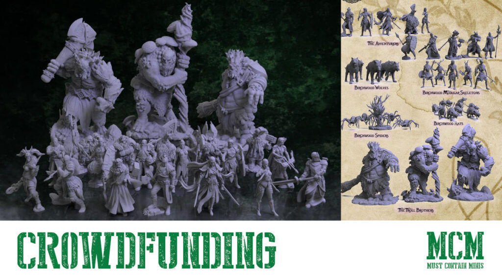 3D Printable Fantasy Terrain & Miniatures – Birchwood Vale