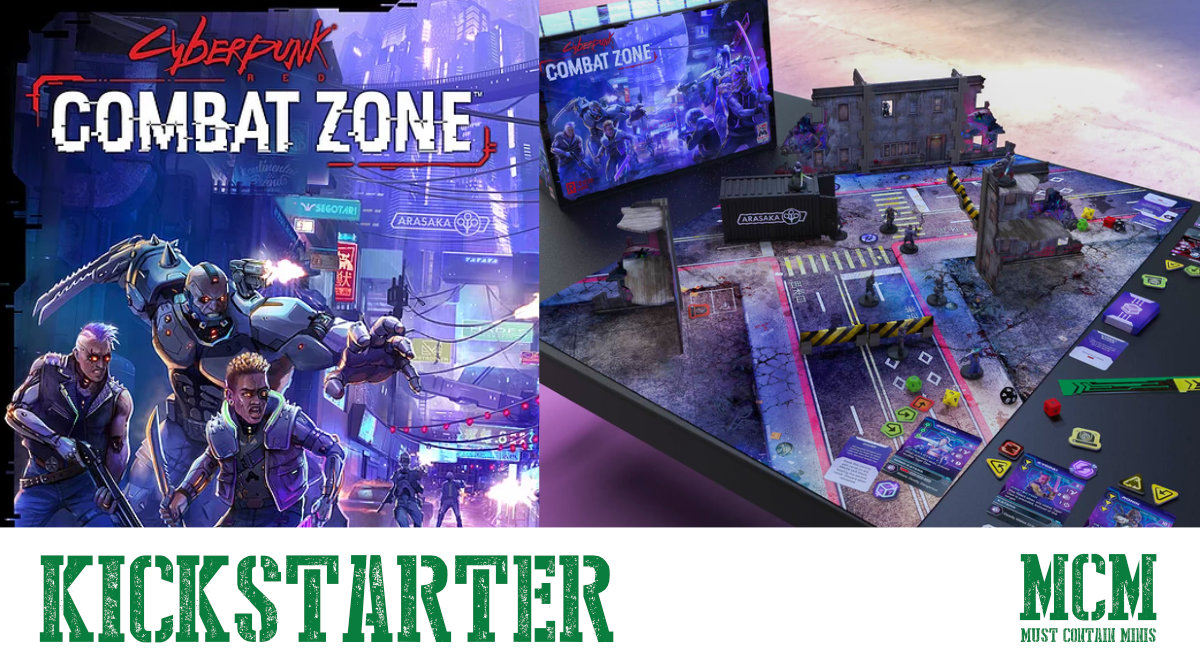 Read more about the article Cyberpunk Red Combat Zone Kickstarter