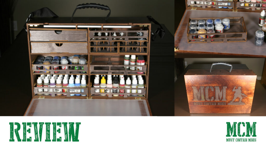Carrying Miniature Paints in Style – Case Review