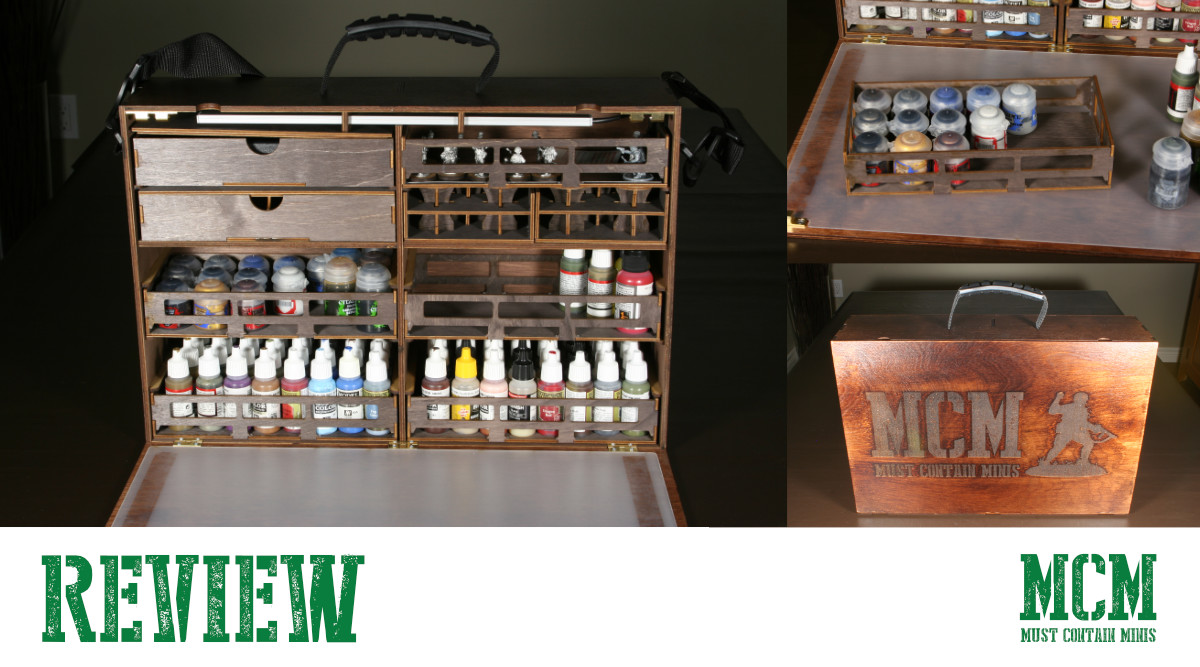 Read more about the article Carrying Miniature Paints in Style – Case Review
