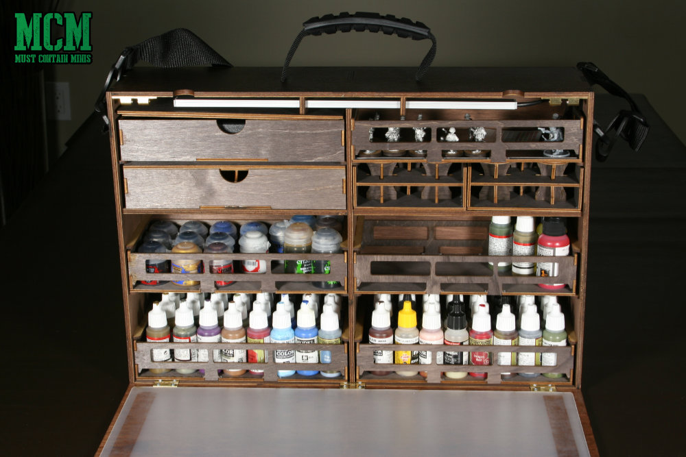 Carry Your Miniature Paints in Style - Frontier Wargaming Paint Case 2.0 Review