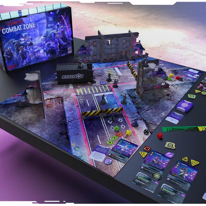 Cyberpunk Red Combat Zone Starter Set Contents
