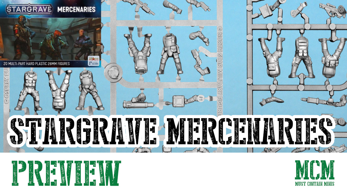 Read more about the article Stargrave Mercenaries Miniatures Preview