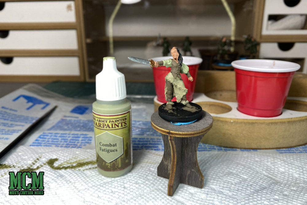 How to Paint a Miniature - Base Coat