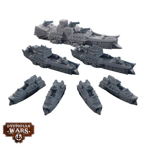 Ning Jing Battlefleet Miniatures