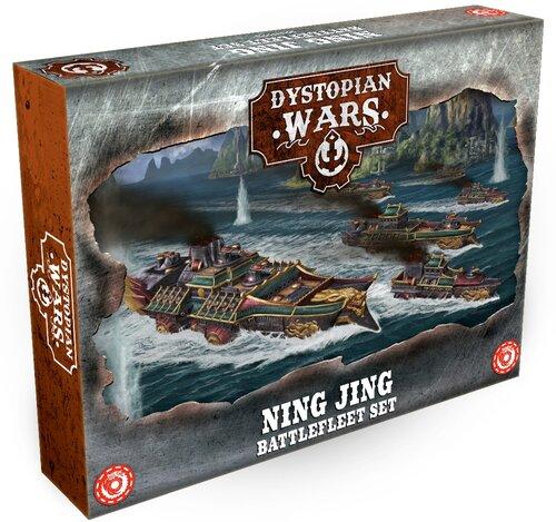 Dystopian Wars Ning Jing Battlefleet Set