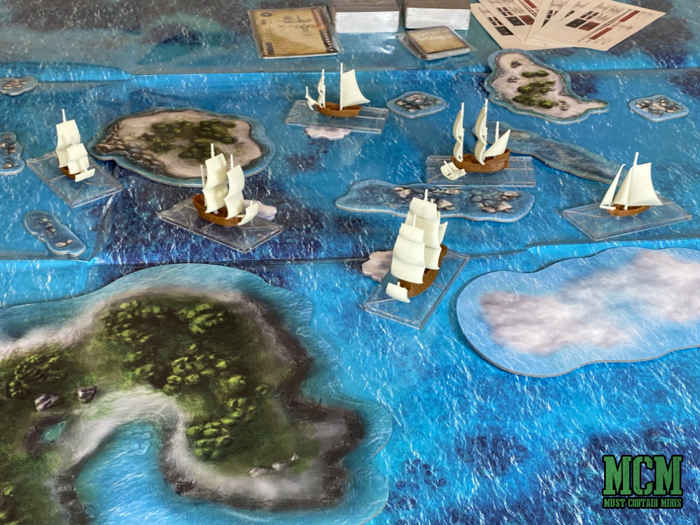 tabletop battles with scale model ships - miniatures games