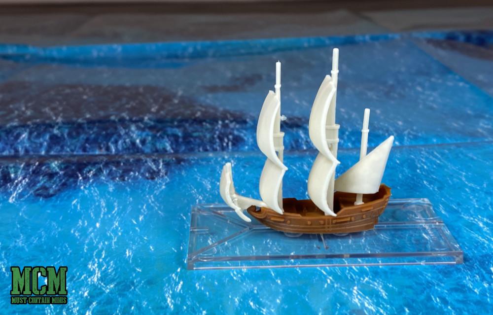 1/600 scale frigate for Oak & Iron