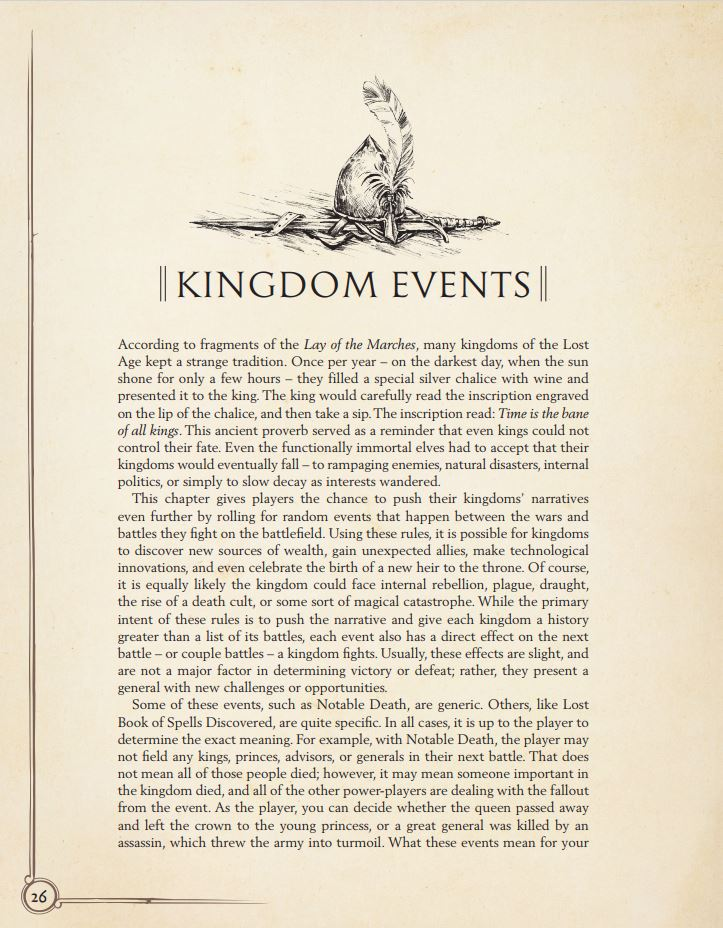 Kingdom Events in Oathmark