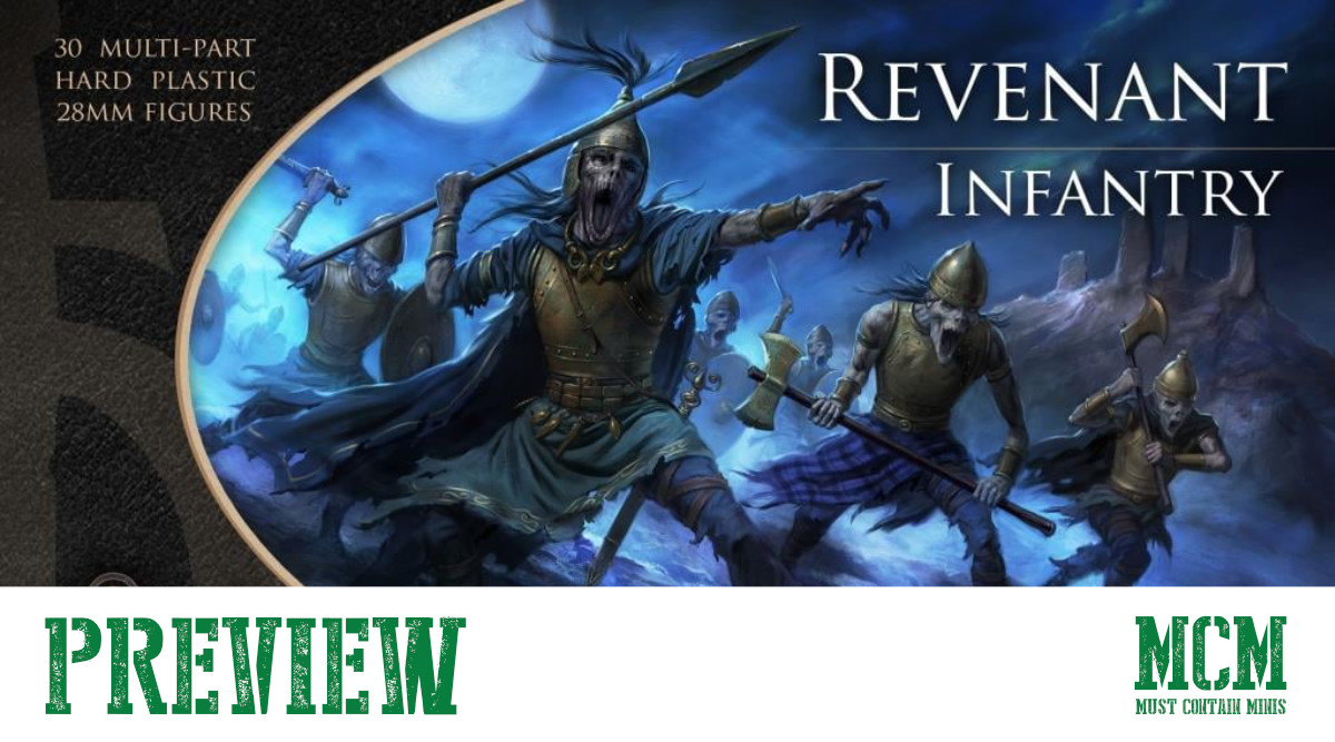 Read more about the article Revenant Infantry Preview for Oathmark