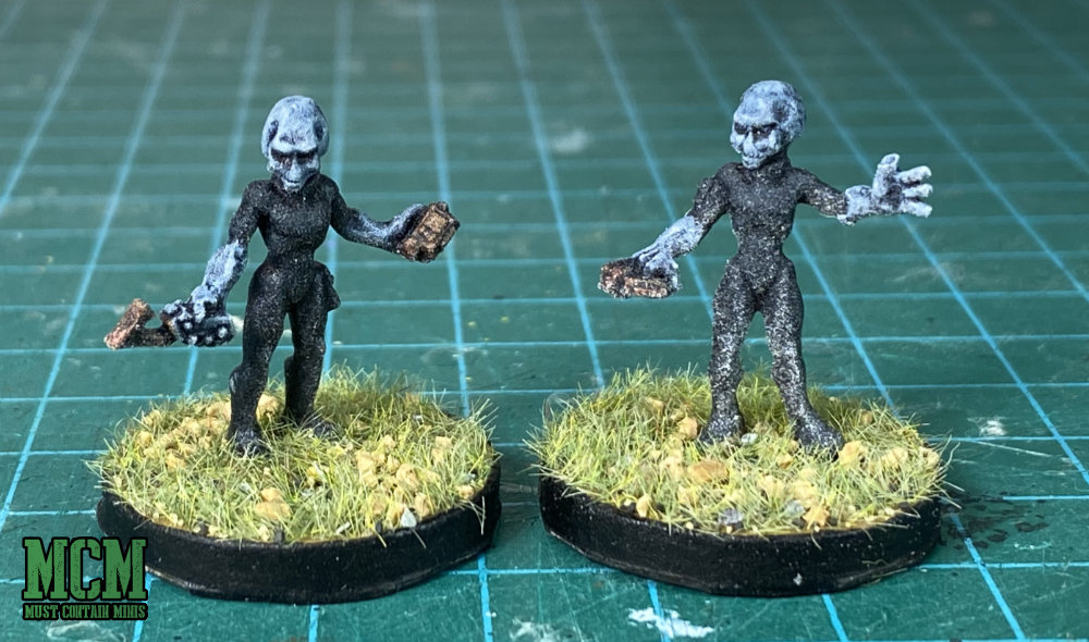 My Finished Reaper Miniatures Aliens for Tabletop Games and RPGs