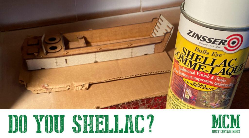 Do You Shellac Your MDF Terrain?