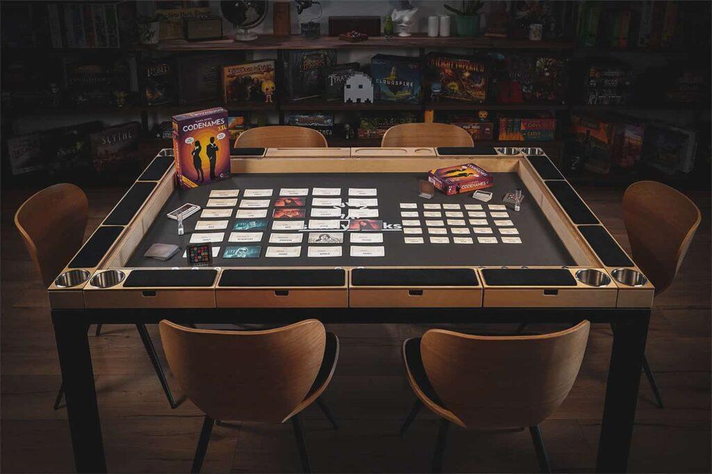 Sunnygeeks Board Game Table by Rathskellers