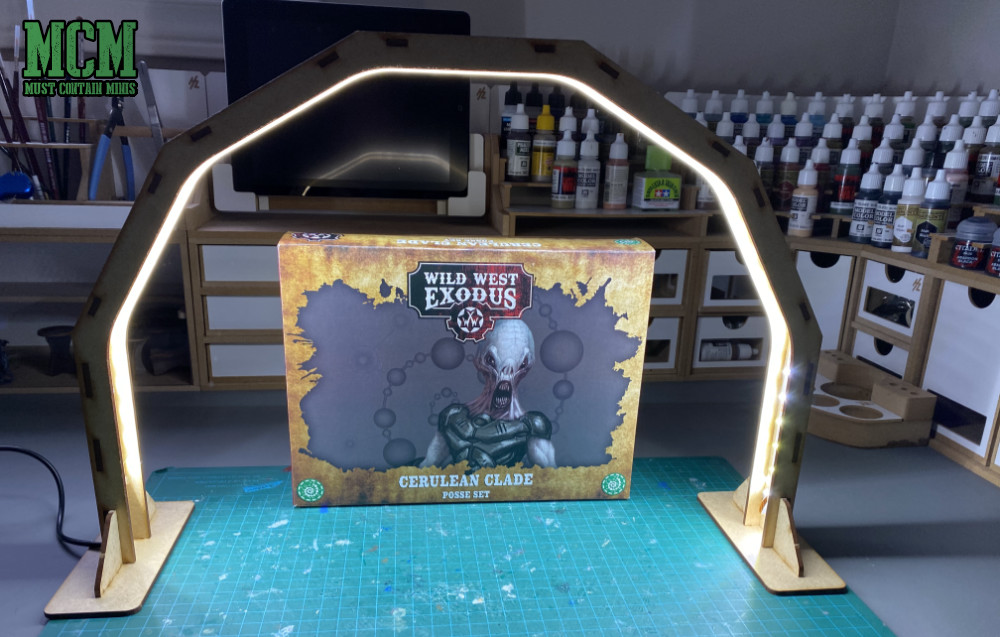 Review of the Cerulean Clade Posse Set for Wild West Exodus - Grey Aliens by Warcradle Studios