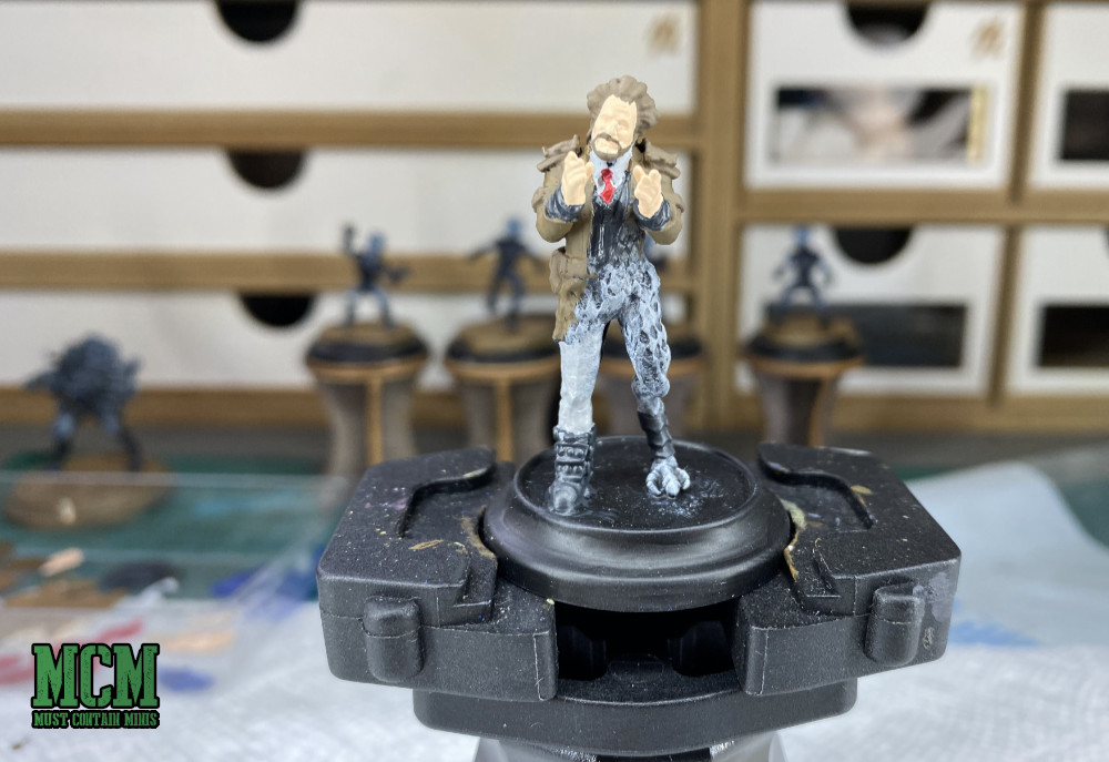 Ancient Aliens Host as a gaming miniature