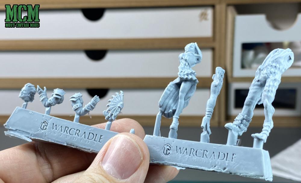 Sprues by Warcradle Studios for Wild West Exodus Watchers miniatures