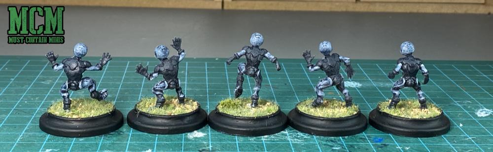 Grey Aliens in Miniature form