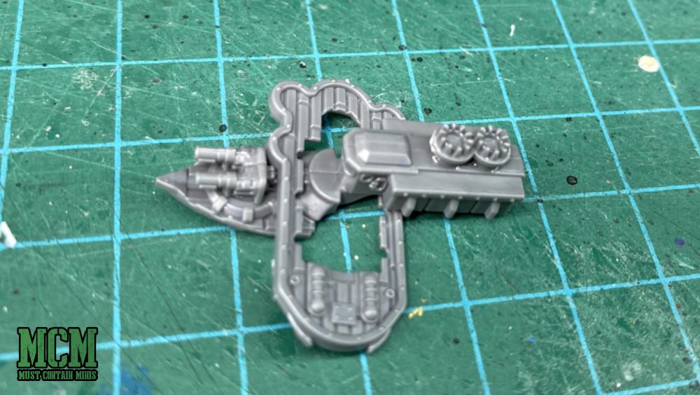 Building a fiddly miniatures