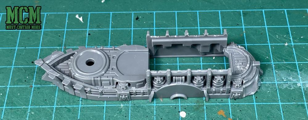 Building a Yorktown cruiser