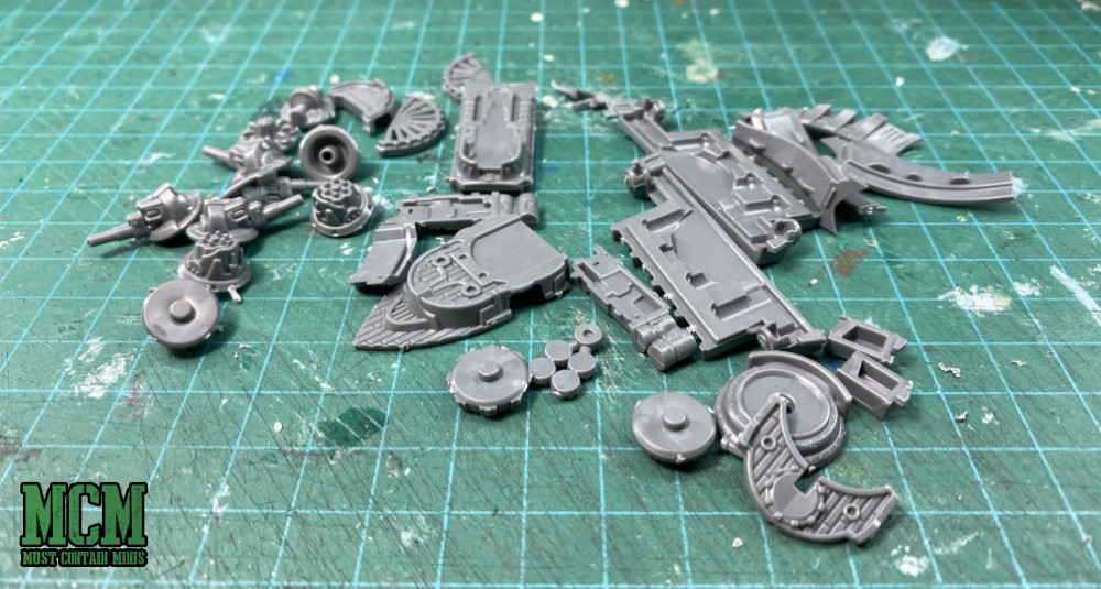 Parts of a Union Cruiser