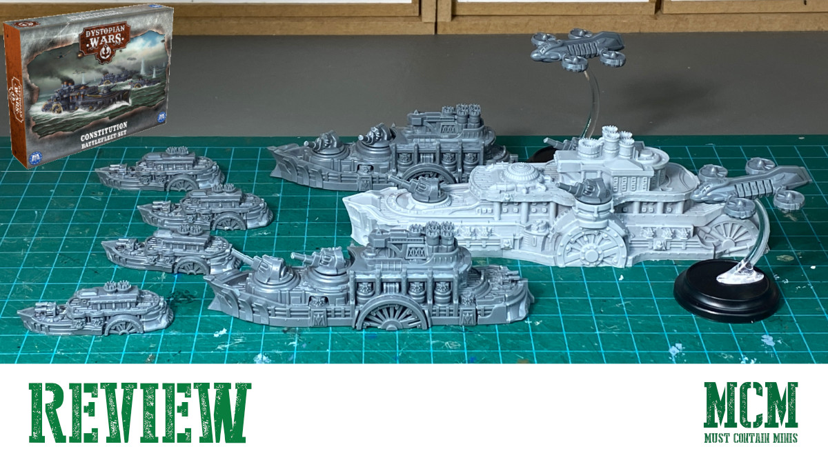 You are currently viewing Constitution Battlefleet Review – Dystopian Wars