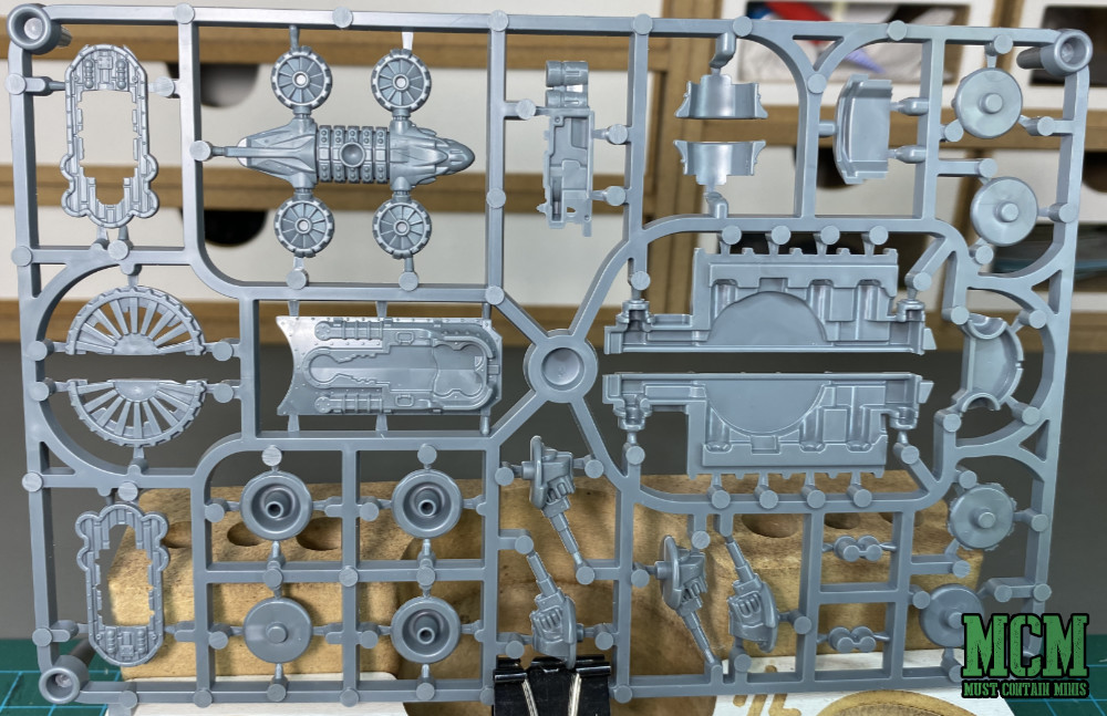 Back of the sprues