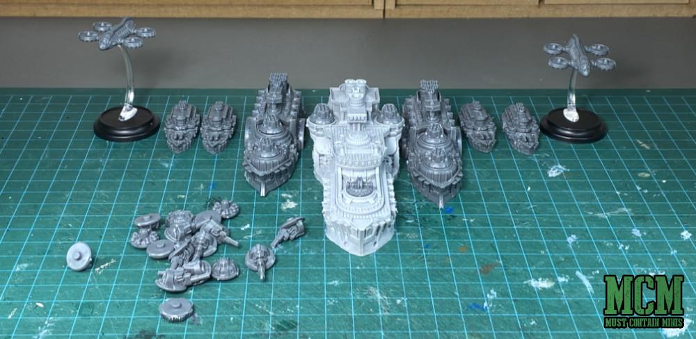 The Fleet assembled