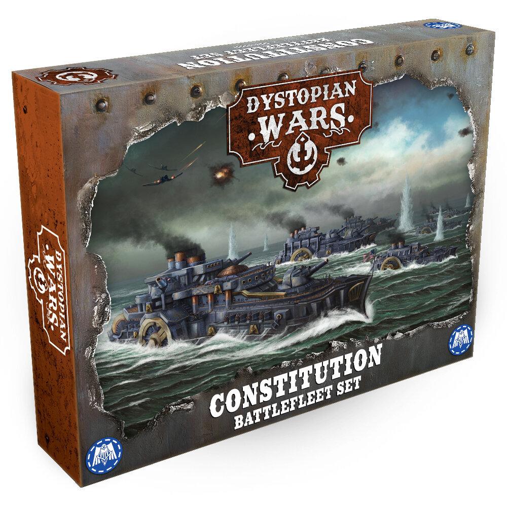 Dystopian Wars Union Battle Fleet