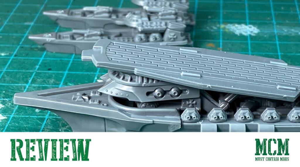 Dystopian Wars Review of Tempelhof Battlefleet