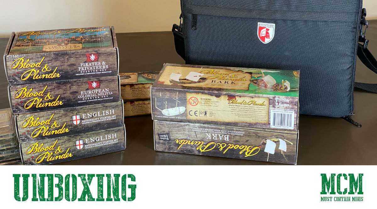 Read more about the article Unboxing Blood & Plunder Starter Sets
