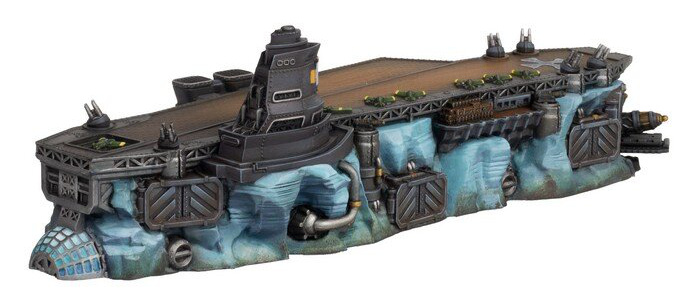 The back of the Ice Maiden ship