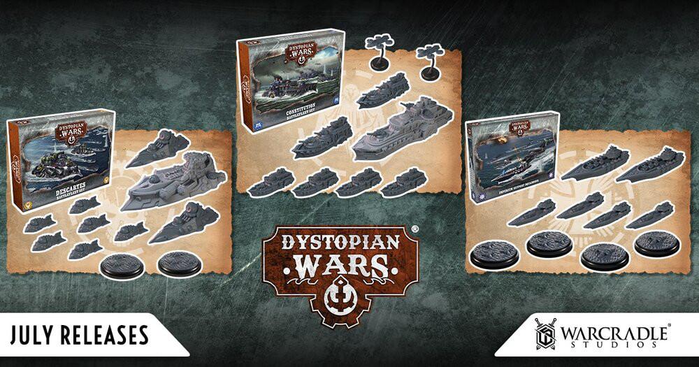 July 2021 Dystopian Wars Releases